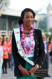Miss Cameroon 2015 in China
