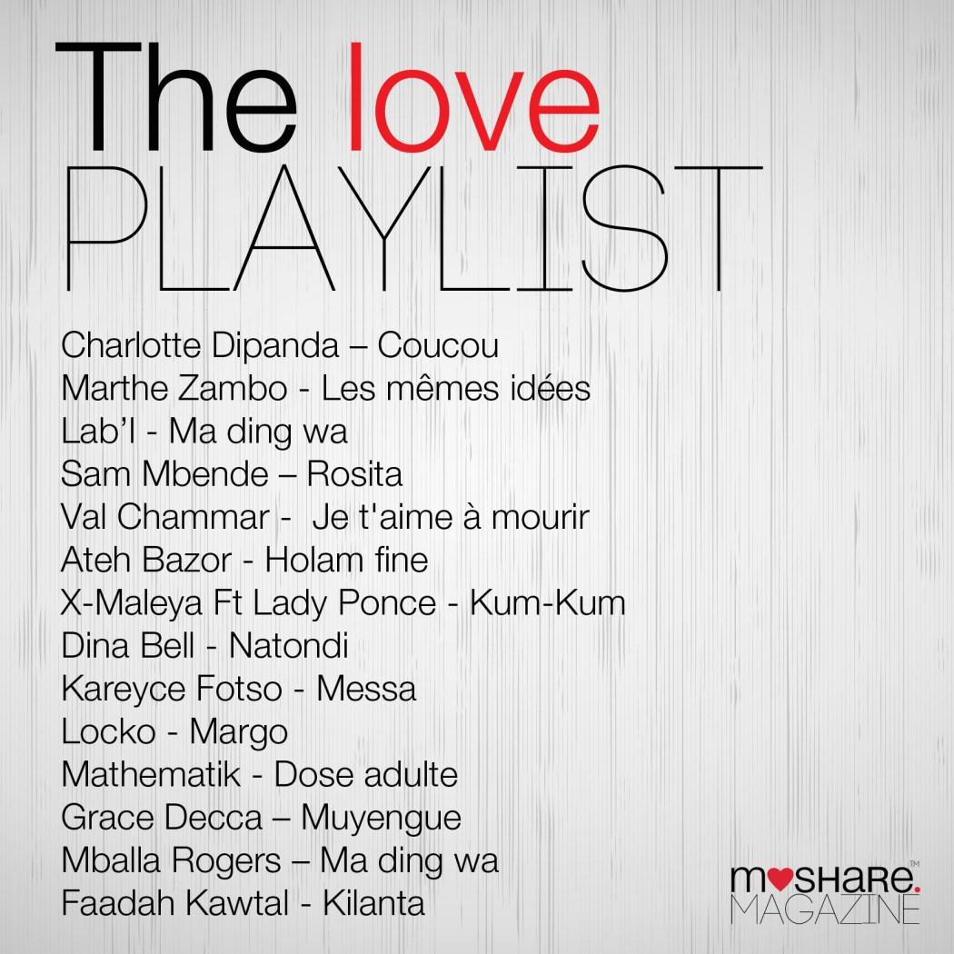 Love Playlist – Moshare Magazine