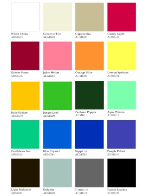 Product MaxxGlossColors chart - product