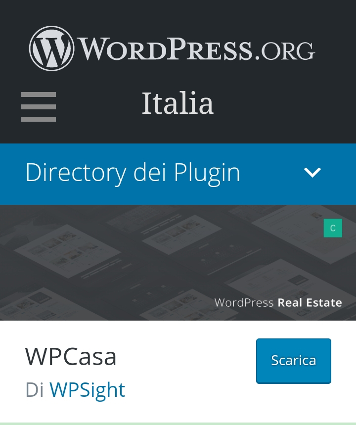 pillole di wordpress – plug-in wpcasa per agenzie immobiliari