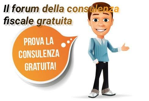 il forum della consulenza fiscale gratuita