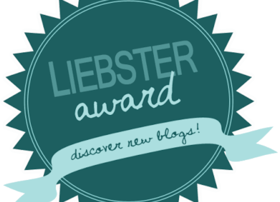 Liebster Award! Yay!