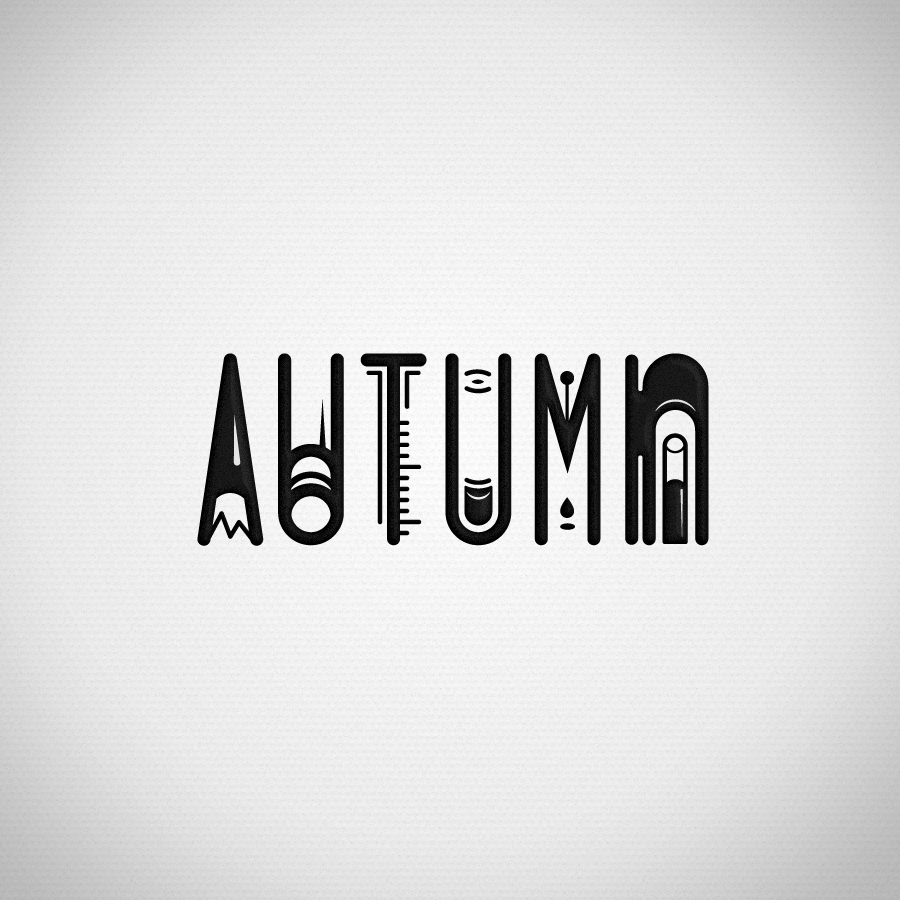 Name Typography AUTUMN HUCTHINS