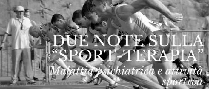 """Quanto può aiutare la """"sport-terapia"""""""