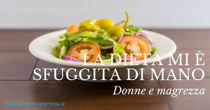 La dieta e i disturbi alimentari