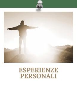 Esperienze personali