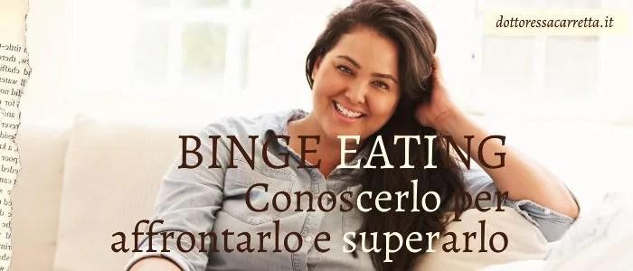 Disturbo da Binge eating