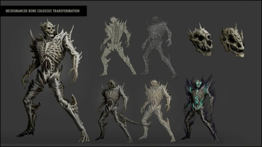 ZoS gave players a deeper look into the ultimate of the Bone Tyrant skill line.