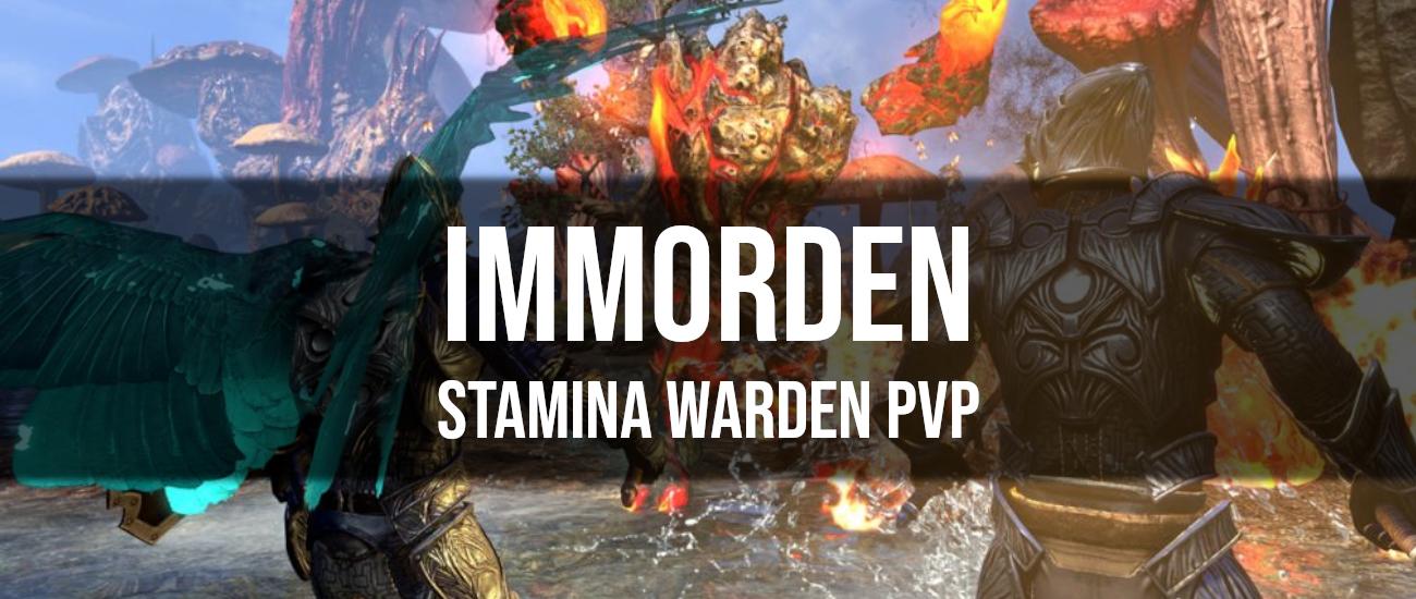 Immorden – Stamina Warden PVP Build - Dottz Gaming