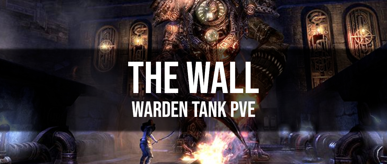 The Wall – Warden Tank PvE Build - Dottz Gaming