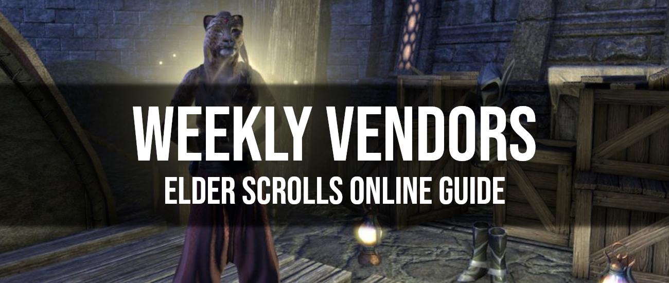 Weekly Vendor Guide - Dottz Gaming