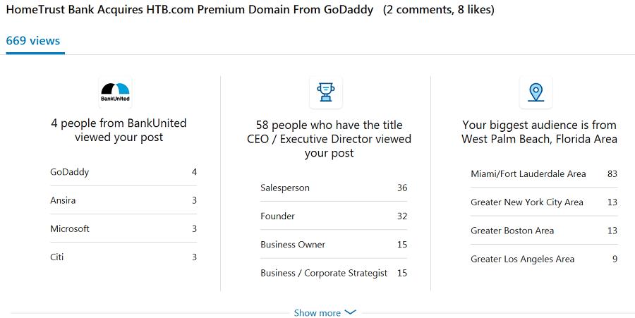 HTB.com LinkedIn