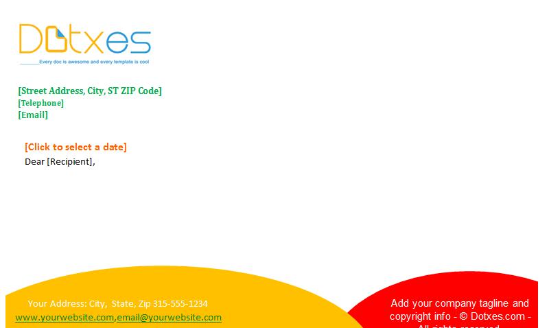 Letterhead Template (Timeless Design) Featured Image