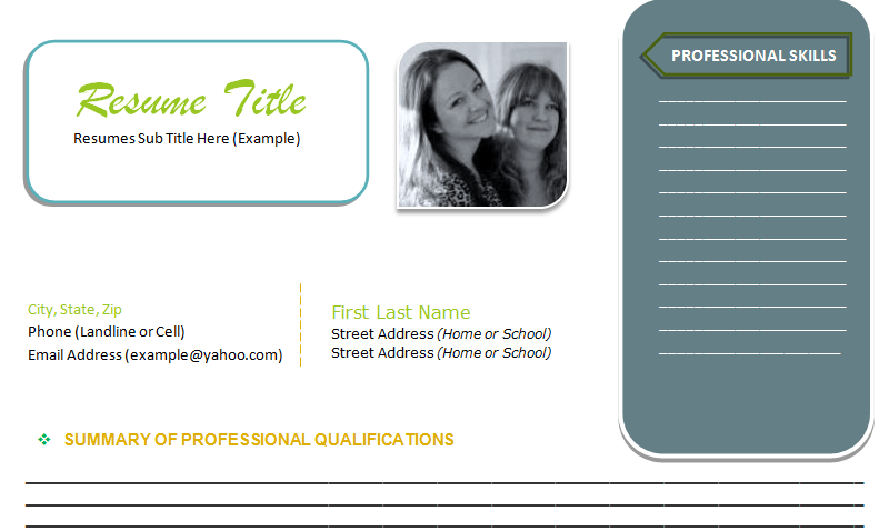 latest Sample Resume Format (Featured Image)