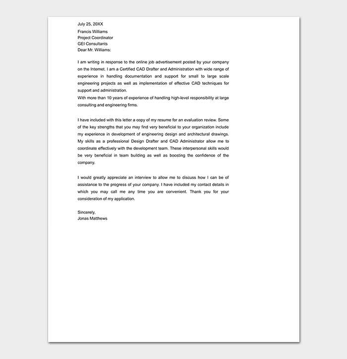 Relocation Professional Cover Letter