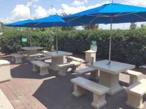 Concrete Tables For Employee Break Area Patio Doty Concrete