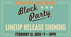 bonfire block party artist release