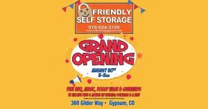 friendly self storage fb event