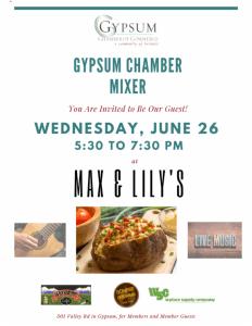 gypsum chamber mixer july