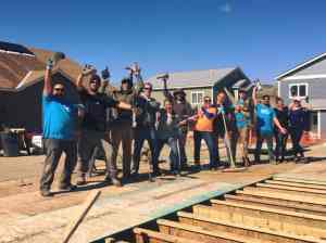 habitat build day