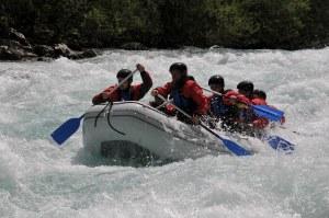 Unde se face rafting în România?
