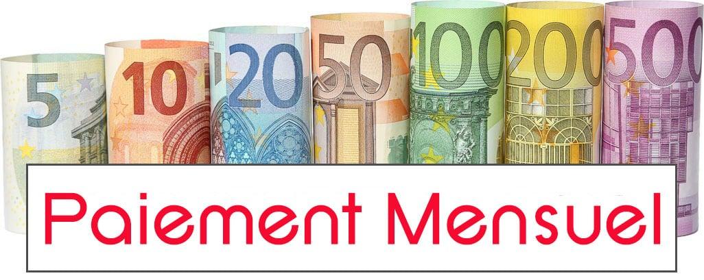 Illustration du paiement mensuel de l'abonnement premium
