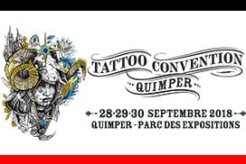 Convention de tatouage du Quimper 2018 Parc expo