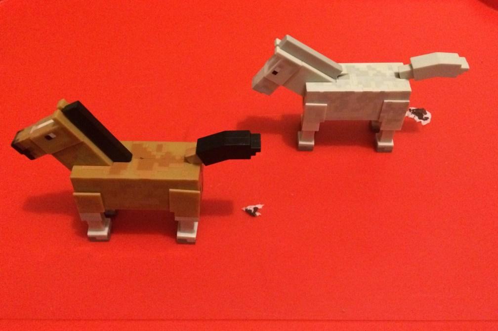 Cai Minecraft și produsul lor. Instalație by Catinca.