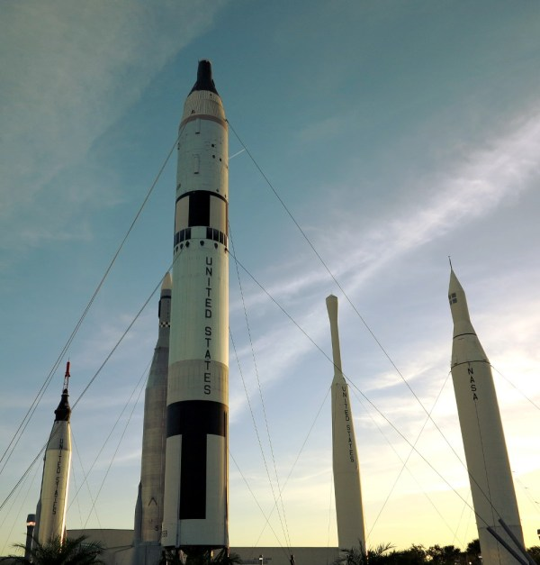 Video Rocket launch at NASA Double Barrelled Travel