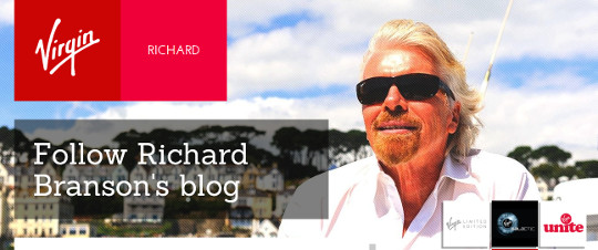 Richard Branson blog