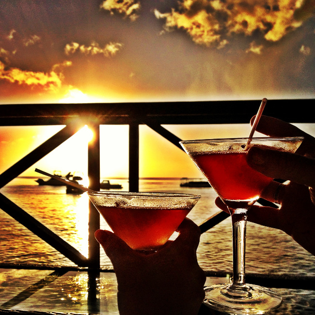Cocktails in the Caribbean Double-Barrelled Travel