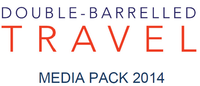 Coverpage media pack Double-Barrelled travel