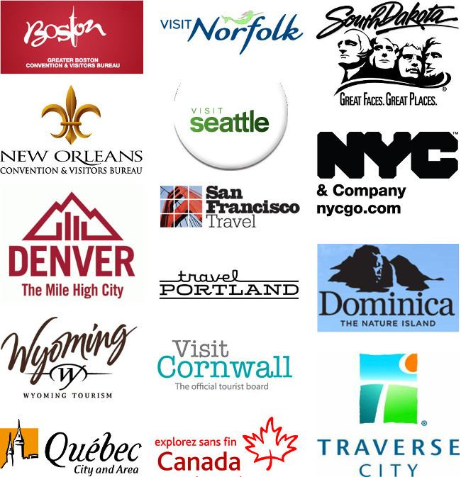 tourism boards we've worked with double-barrelled travel