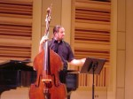 Some shots of my recital on the Karr-Koussevitzky bass