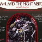 Menotti's Amahl and the Night Visitors this week at the Ruth Page Center for the Arts