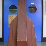 Koussevitzky's giant bass case
