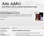 New Look for Arts Addict