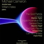 Michael Cameron Recital 3/12/09