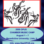Scholarships still available for bassists at Opus Chamber Music Camp this August