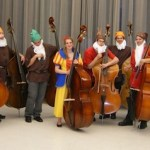 Ohio State bass studio as Snow White and the Seven Dwarfs