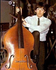Paul McCartney On Double Bass