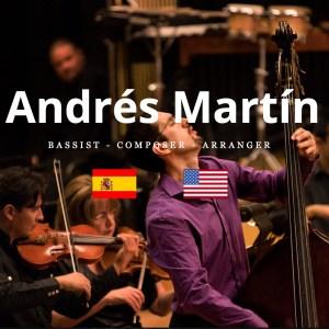 Double bassist Andrés Martín