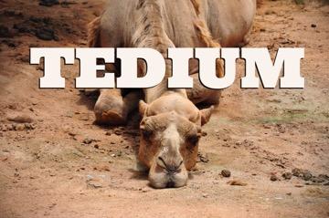 tedium