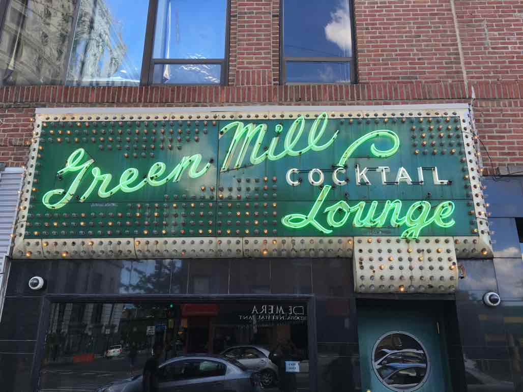 Chicago's Green Mill is one of the city's classic joints for jazz.  Capone used to hang out here, and there are still underground bootlegging tunnels beneath the bar.  A place I'll miss for sure!