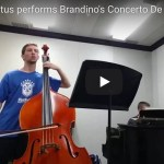 Brandino's Concerto De Basso with fingerings