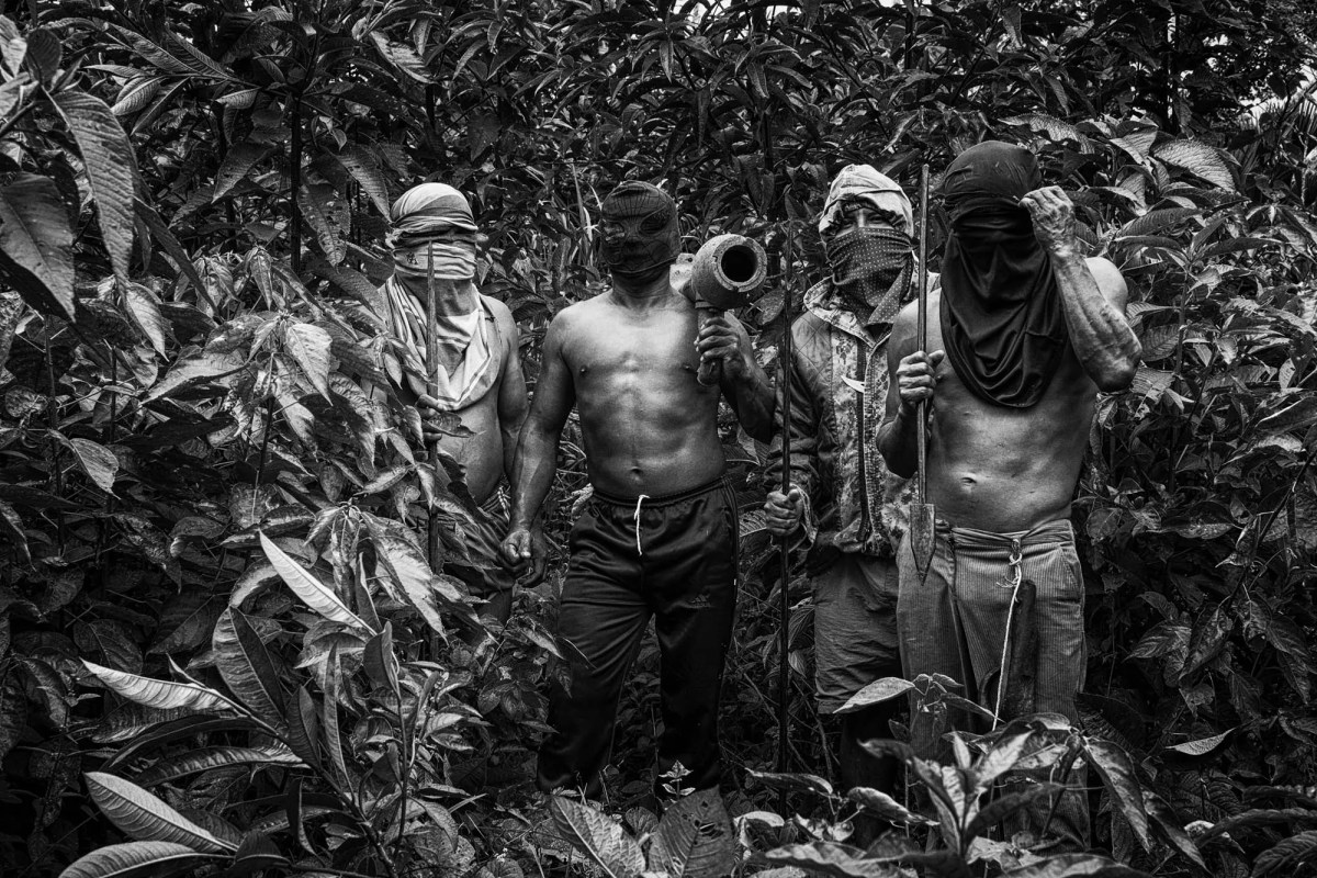 DoubleBlind: Powerful photos of the resistance against foreign oil and mining extraction