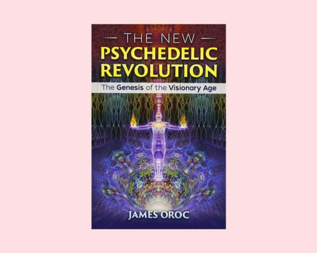 DoubleBlind: A stock image of a psychedelic book