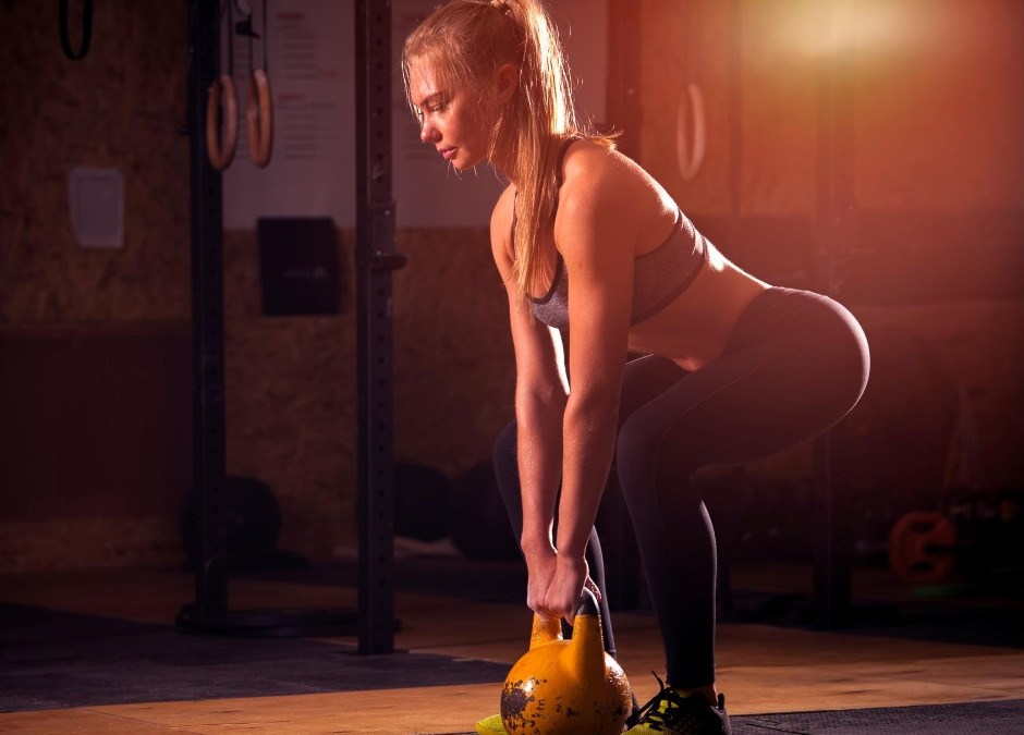 Kettlebell swings: the only exercise you'll ever need!
