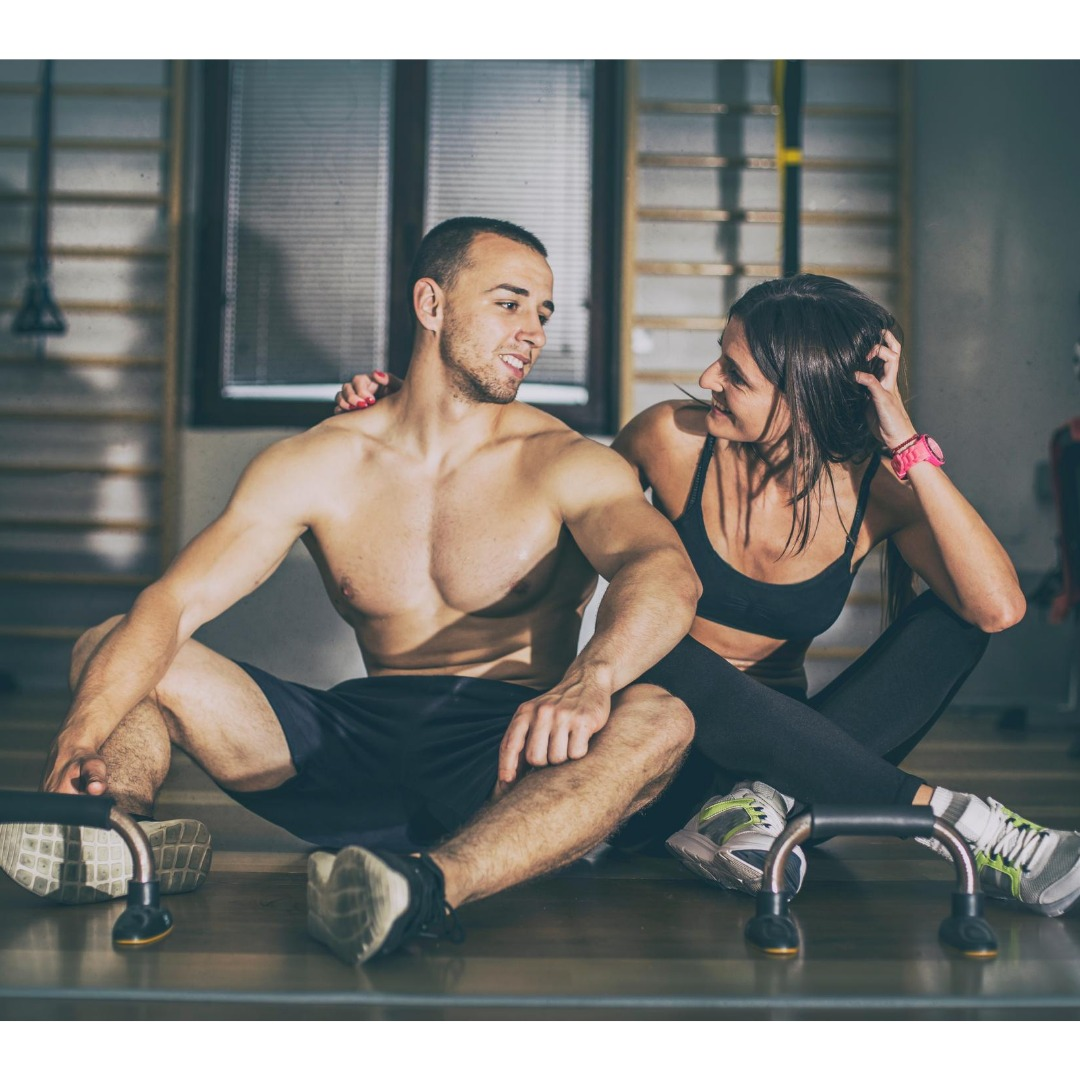 couple after a 10-minute workout