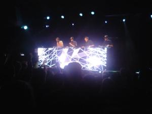C2C tearing up the turntables at The Independent in San Francisco, California